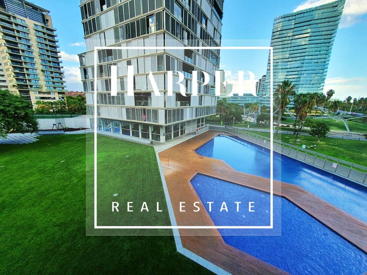Apartamento en alquiler en Diagonal Mar-El Front Marítim del Poblenou
